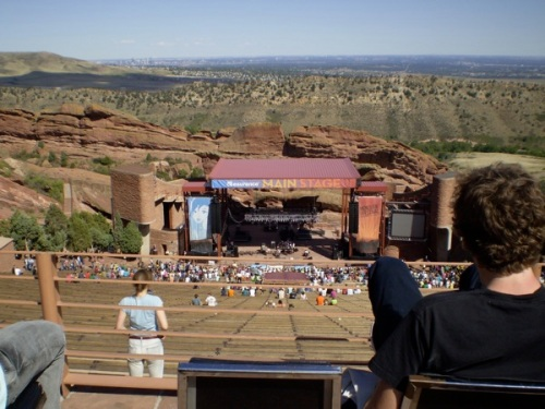 Red Rocks main stage